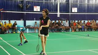 Chennai District Badminton Championship 2018 ASR Perambur Varshini K U13 Matches Highlights