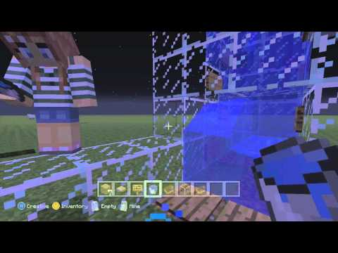 Minecraft Xbox Tutorial - How to build a Water Elevator Tutorial
