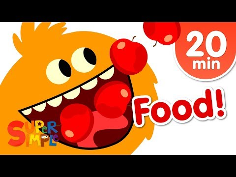 Our Favorite Food Songs For Kids!   Super Simple Songs