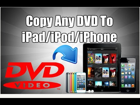 How To Copy Any DVD To iPad, iPod, iPhone