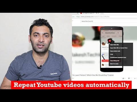 How to Make a YouTube Video or Song Repeat Automatically