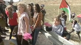 8-year-old Palestinian girl reports on West Bank conflict - no comment