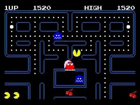 Pacman Gameplay [1]: Beginner's luck