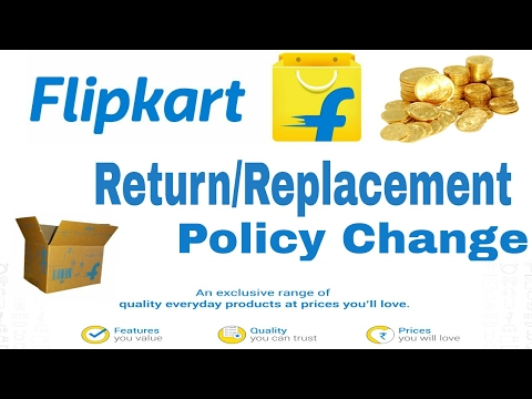 #Breking News! Flipkart Change Policy! No Refund ! Only 10 Day's Replacement!