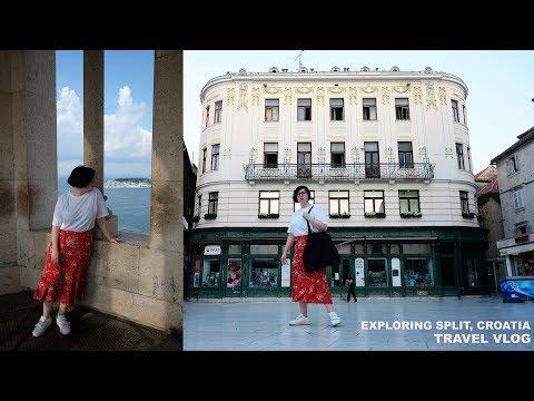 Exploring Split, Croatia | Travel Vlog | Where to eat, What to do & Tattoos!