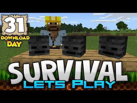IS IT TIME TO BRING ON THE WITHER? - Survival Let's Play Ep. 31 (DD) - Minecraft 1.2 (PE W10 XB1)