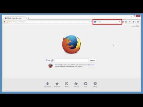 Firefox Search bar - Easily choose your favorite search engine