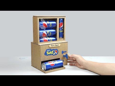 How to Make Pepsi Vending Machine with Secret Key