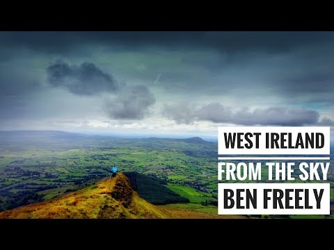 WEST IRELAND FROM THE SKY | IRELAND DRONE VIDEO
