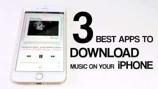 TOP 3 Best Apps to Download Free Music on Your iPhone (OFFLINE MUSIC) | 2017 #5 [Subscribers Choice]