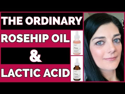 The Ordinary Skincare Review | Rosehip Oil & Lactic Acid 5%