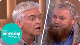 Brian Blessed Leaves Phillip Stunned After Revealing the Size of a Gorilla