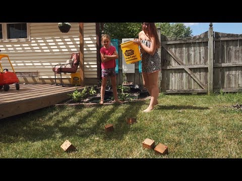 Yardzee - How to Make a Giant DIY Yard Dice Game