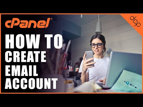 How to create email account using Cpanel - DCP Web Designers Tutorial