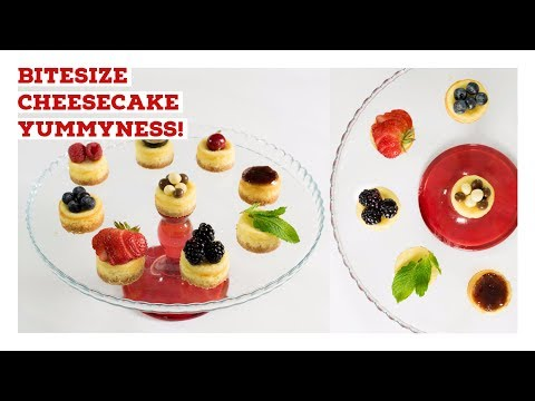 How to Make Easy Homemade Mini Cheesecakes - No Fuss Recipe