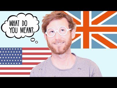 Can Americans understand British English?   Diferencias entre el inglés británico y americano