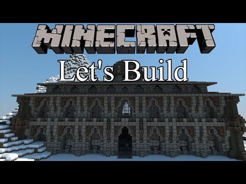 Let's Build a Snowy Kingdom   Ep.3 - The Bath House