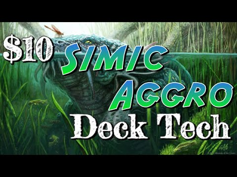 Mtg Deck Tech: $10 Budget Simic Aggro in Magic Origins Standard! (No Theros block/M15!)