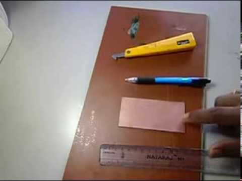 How to Cut PCBs?  Easiest way to cut copper clad board.