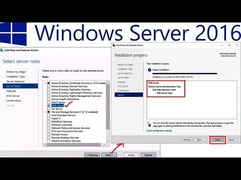 How to Install DNS in Windows Server 2016 - 30