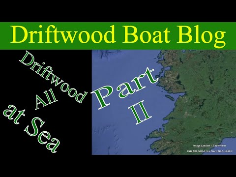 River Shannon cruiser heads to England on the way to France. #23