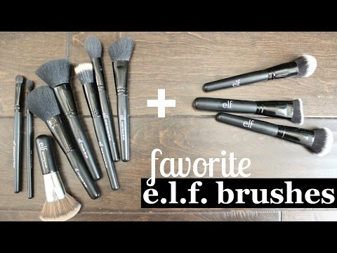 FAVORITE ELF brushes & more | christinawhy