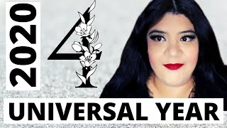 ⭐ 2020 Universal Year # 4! What Does It Mean?! ⭐*50K Giveaway Contest!*