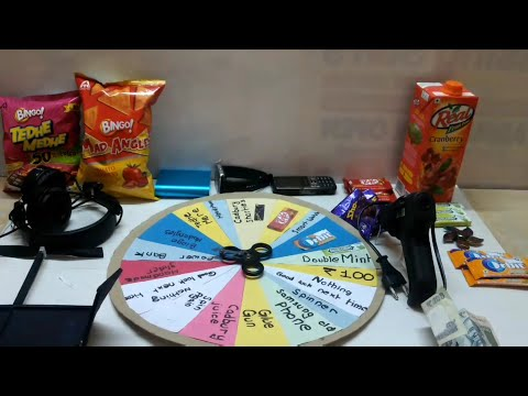 How to make spin wheel game DIY | CREATIVE CRAFTS