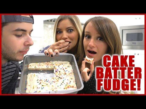 SASSY BAKING!   Cake Batter Fudge