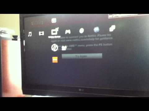 Netflix NOT Working ON PS3!! (NEED HELP)