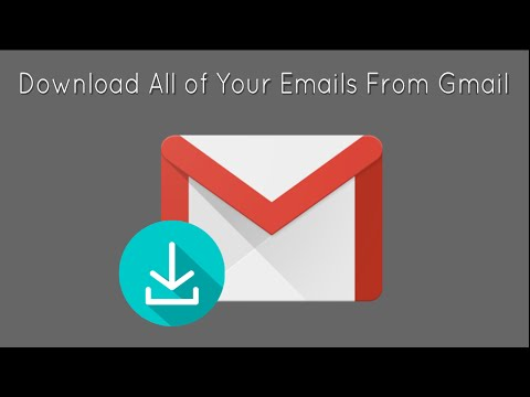 Download all of your emails