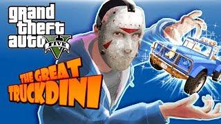 GTA 5 - Truckdini, Launches, Glitches and Funny Moments!