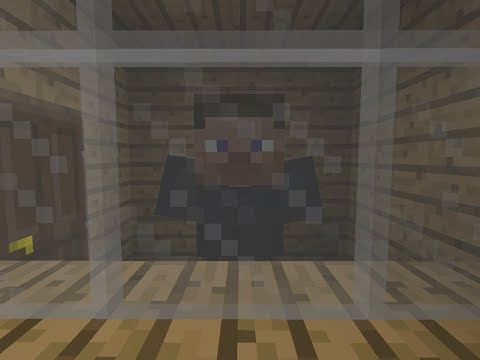 Minecraft | how to make a working mirror in minecraft