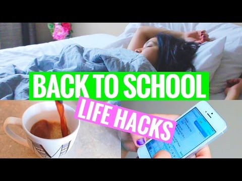 10 Back To School Life Hacks | Every Student Needs These