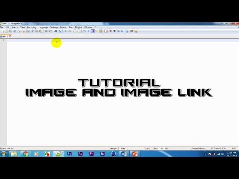 Tutorial HTML: image and image link