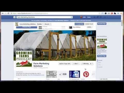 Interacting with customers on Facebook (Farm Sales Day 47)