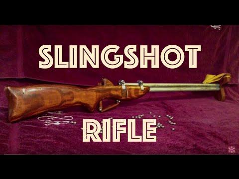How to Make a Powerful Slingshot Rifle