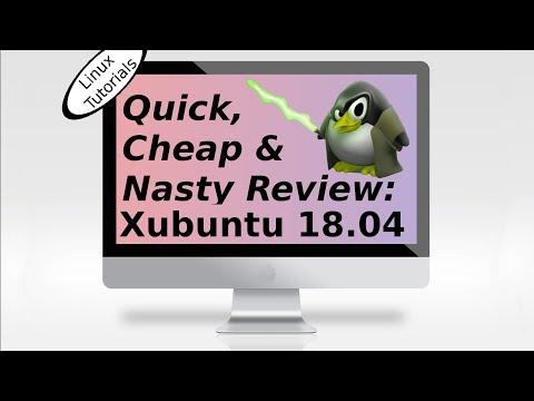 Xubuntu 18.04 Review