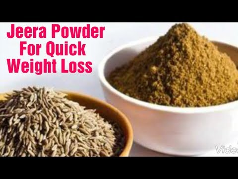 Magical  Weight Loss powder  /loss 5 kg in 1 month with jeera/cumin seeds /Rosted jeera powder