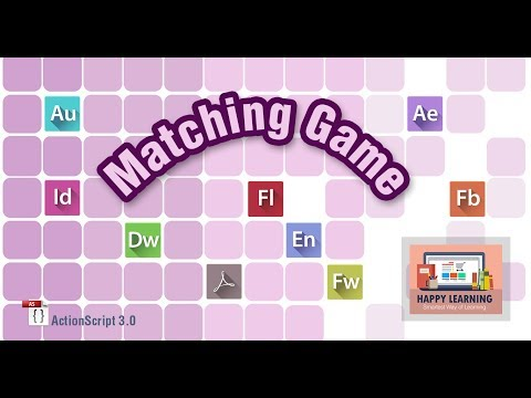 Creating a Matching Game in Adobe Flash Using ActionScript 3.0