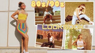 80s/90s SUMMER OUTFIT IDEAS ☆ LOOKBOOK