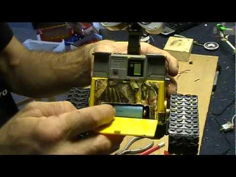 WALL-E robot with Arduino