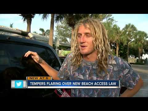 Fences on beaches cause uproar and confusion about new Florida law