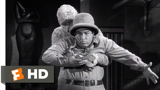 Abbott and Costello Meet the Mummy (1955) - You Can Come Out Now Scene (7/10) | Movieclips