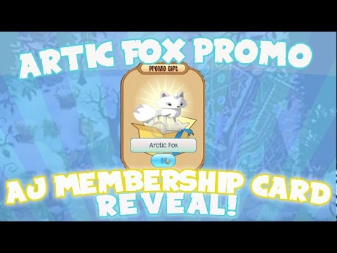 ANIMAL JAM: ARCTIC FOX PROMO GIFTS