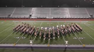 +P +W Vidor High School Band 2018 - UIL Region 10 Marching Contest