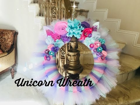 Unicorn Wreath DIY