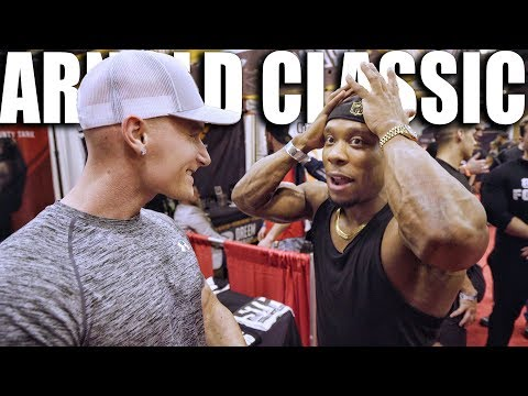 THE MIND BLOWING FINALE | Arnold Classic 2018 | Cutting A Rug With Chris Jones & Pumpchasers