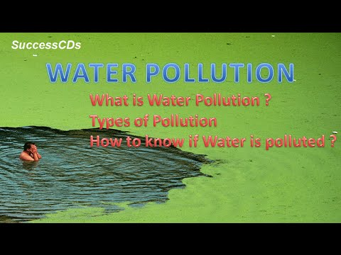 What is Water Pollution and types of Water Pollution ?
