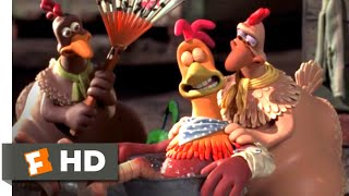 Chicken Run (2000) - Flight School Scene (4/10)   Movieclips